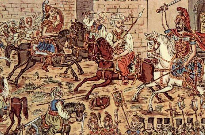 """""""Κοινή γαρ γνώμη πάντες αυτοπροαιρέτως αποθανούμεν και ου φεισόμεθα της ζωής ημών"""" - 29η Μαΐου 1453"""