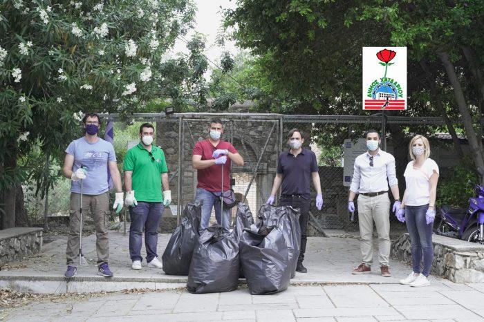 Δράση καθαρισμού, από τον Δήμο Χαϊδαρίου, της δασικής έκτασης της Μονή Δαφνίου για την Παγκόσμια Ημέρα Περιβάλλοντος