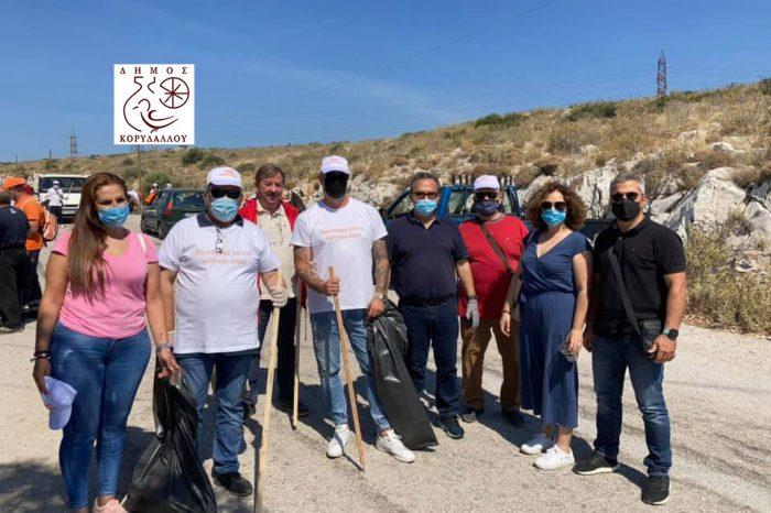 Γ. Δημόπουλος:  Εθελοντική δράση καθαρισμού του όρους Αιγάλεω!
