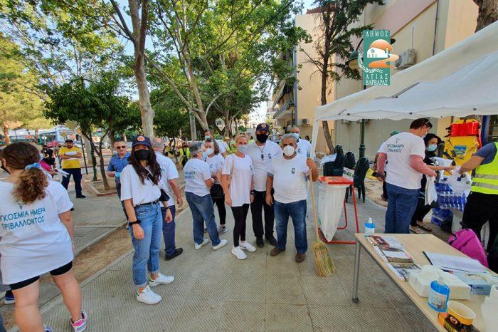 Δήμος Αγίας Βαρβάρας: Εκστρατεία φροντίδας αστικού περιβάλλοντος