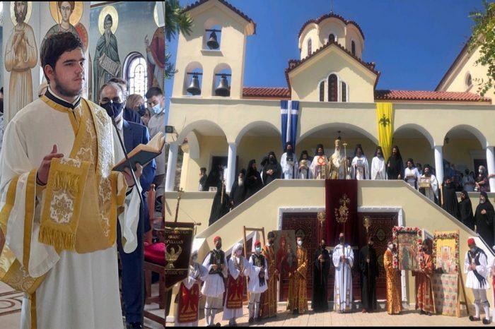 Χειροτονία νέου κληρικού από την Αγία Βαρβάρα