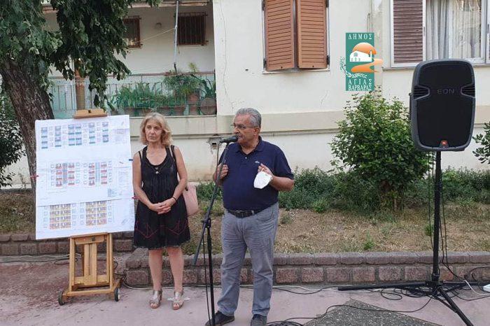 Με απόλυτη επιτυχία η συνάντηση δημάρχου και κατοίκων στις πολυκατοικίες για το έργο πράσινη γειτονιά