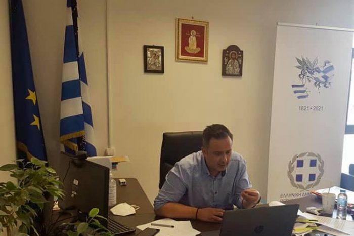 Διαδικτυακή συνάντηση του Αντιπεριφερειάρχη Δυτικού Τομέα Αθηνών κ. Α. Λεωτσάκου με τα μέλη της Α΄ Τ.Ε.Ψ.Υ. Αττικής