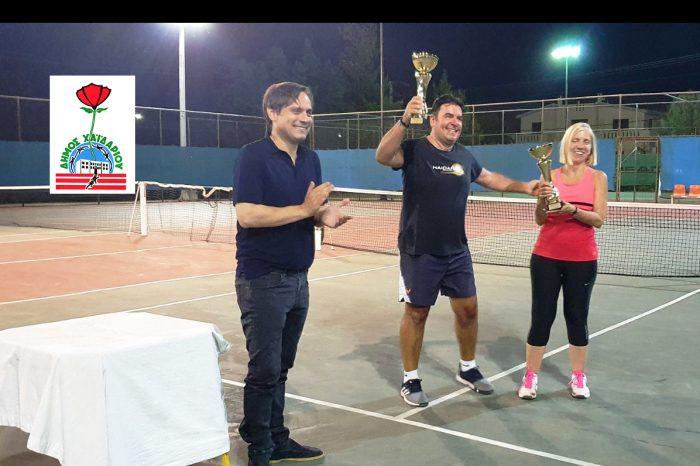 Ολοκληρώθηκε το εσωτερικό τουρνουά τένις του Δήμου Χαϊδαρίου