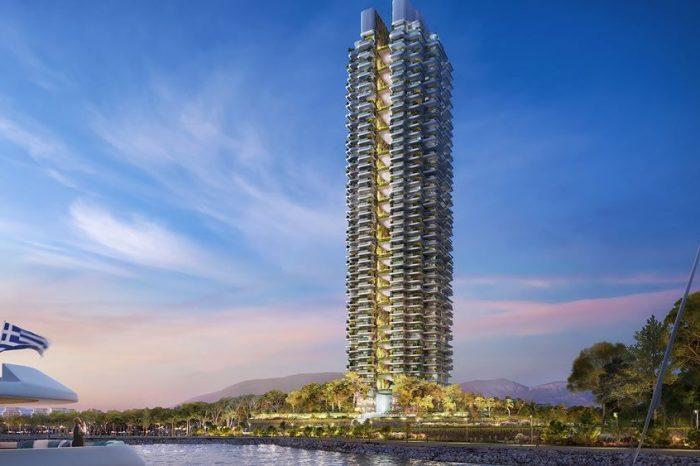 """Ελληνικό: Ιδού ο Marina Tower, ο πρώτος """"πράσινος"""" ουρανοξύστης στην Ελλάδα"""