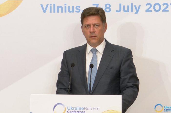 Σημεία παρέμβασης του Αναπληρωτή Υπουργού Εξωτερικών Μιλτιάδη Βαρβιτσιώτη στην 4η Διεθνή Διάσκεψη για την Ουκρανία - Συνομιλία με Τούρκο Υπουργό Εξωτερικών Μεβλούτ Τσαβούσογλου