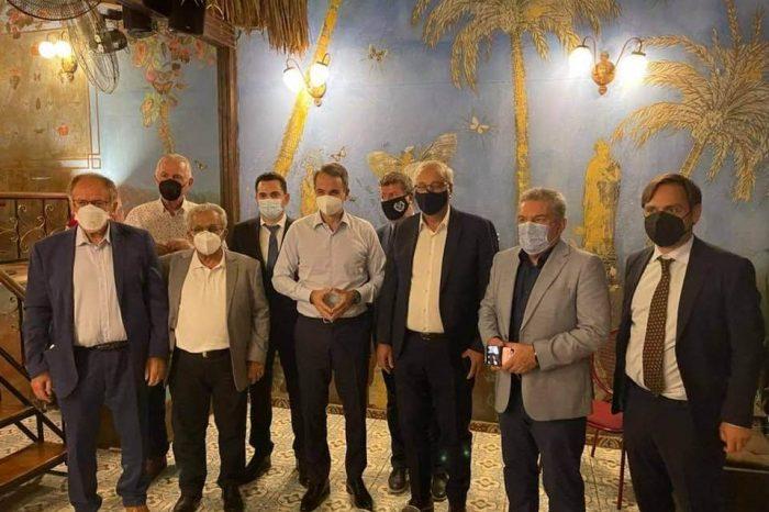 Ολοκληρώθηκε η συνάντηση των 7 δημάρχων με τον πρωθυπουργό, κ. Κ. Μητσοτάκη